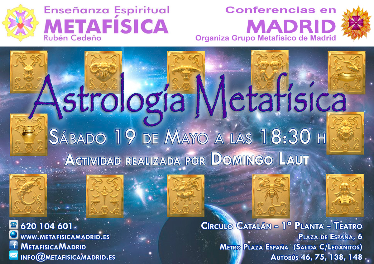 Conferencia Metafísica Madrid - Gratitud - Grupo Metafísco de Madrid